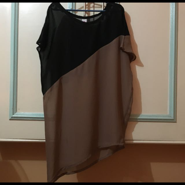 Preloved see through blouse