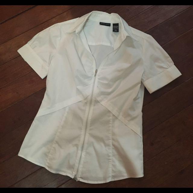 Preloved white blouse
