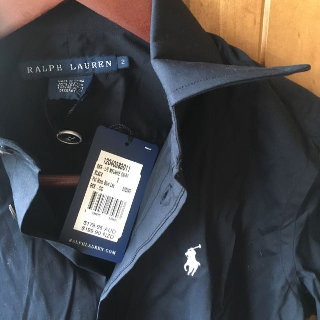 Ralph Lauren Women's Black Shirt