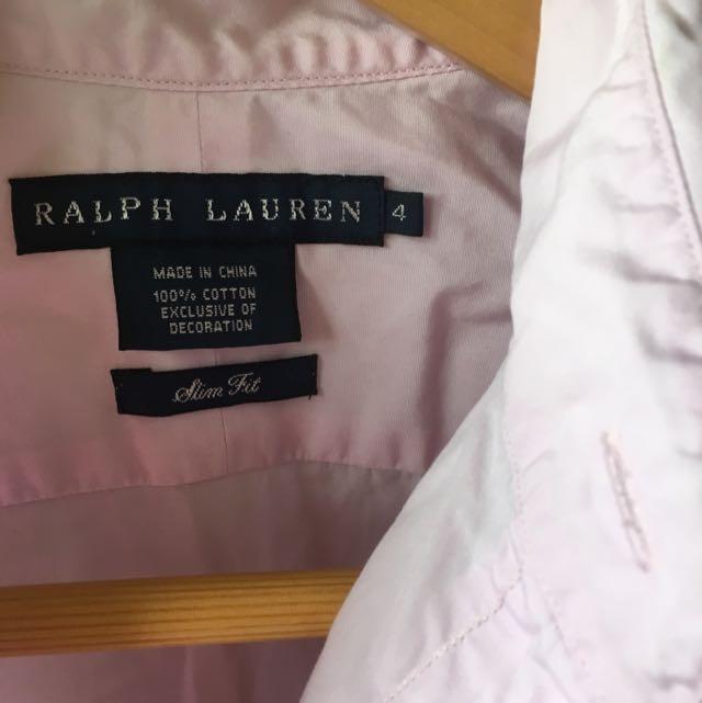 Ralph Lauren Women's Shirt Sz4 (Aust8)