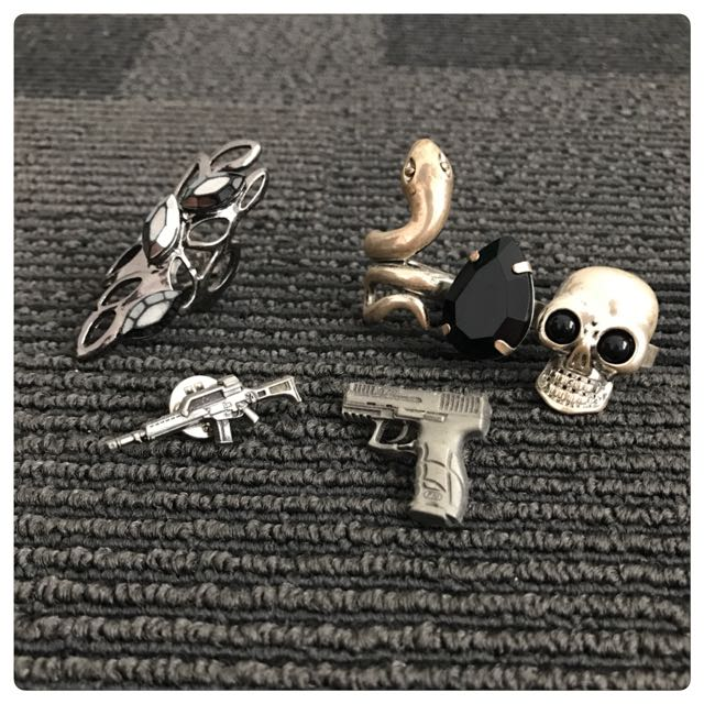 Ring And Brooch Set