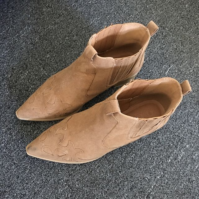 Rubi Nude Boots