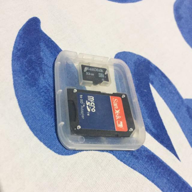 SanDisk 32GB Micro SD Card