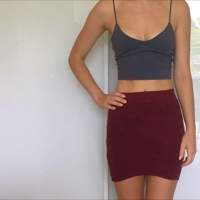 Sass Bandage Skirt