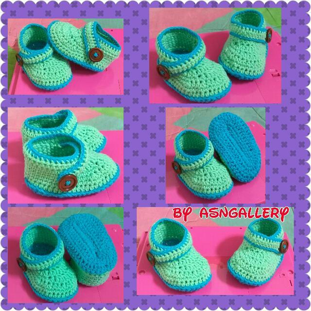 Sepatu Bayi/Prewalker Bayi Laki Toska