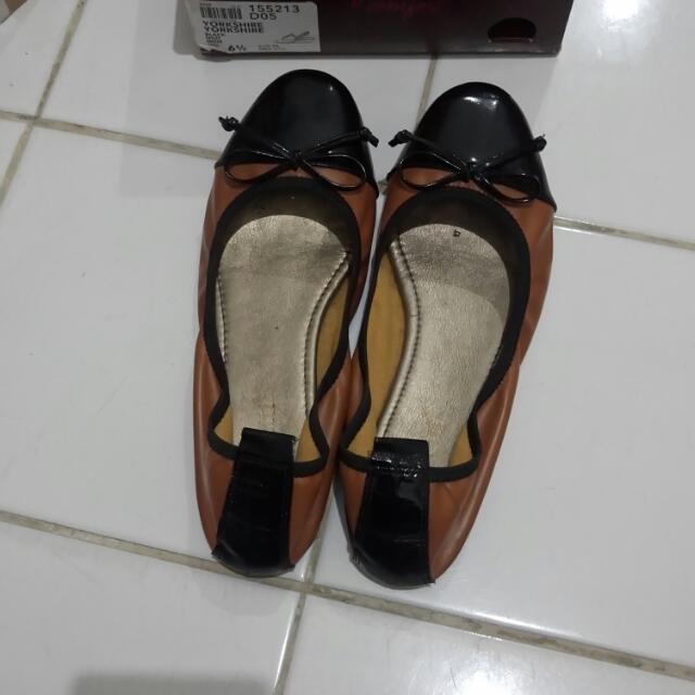 Reprice Sepatu Georetti Brown ORI