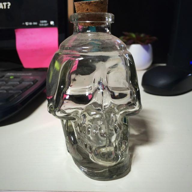 Small Alcohol Skull