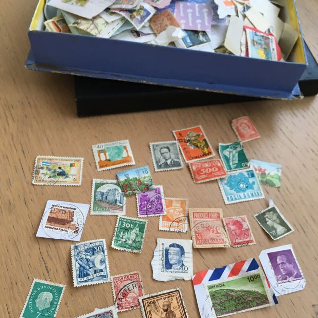Stamp Collection Incl Vintage Stamps
