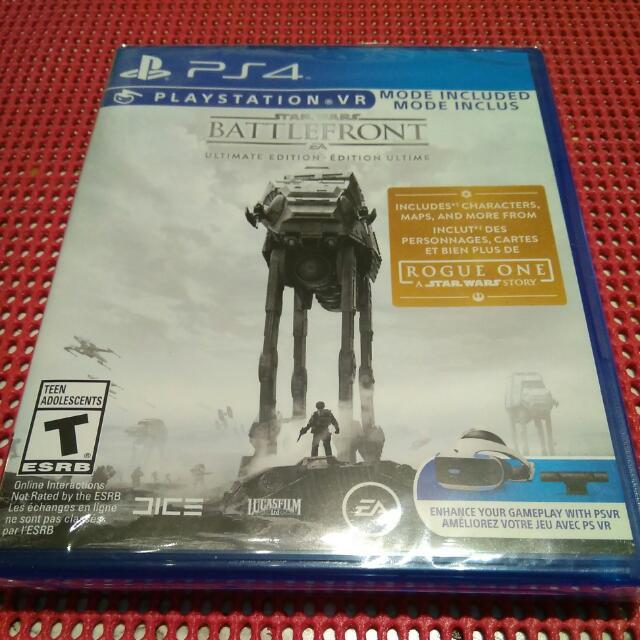 Star Wars Battlefront Ultimate Edition PlayStation 4 PS4
