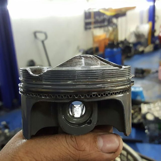 Supertech 86mm 12 5:1 K20 Pistons, Car Accessories on Carousell