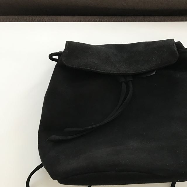 Tony Bianco Suede Backpack