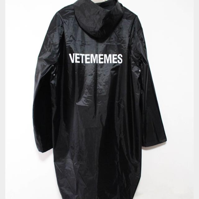 vetememes rain coat