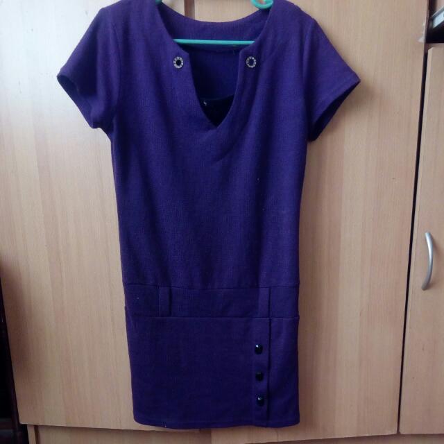 Violet bodycon Dress