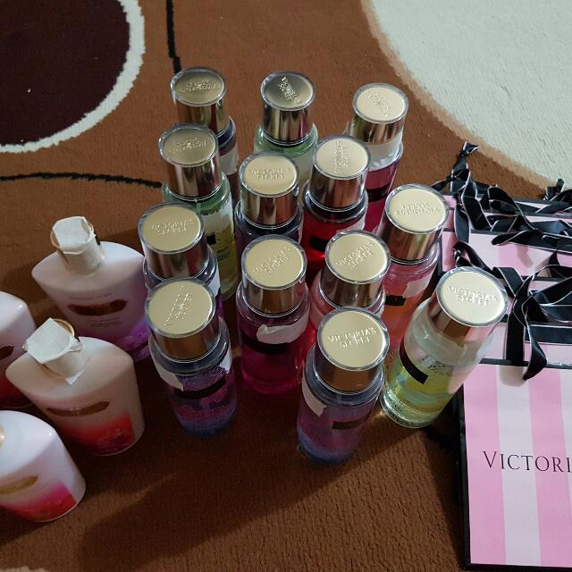 VS Mist and Lotion OnHand
