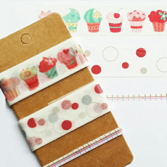 Washi Tape Subpack Set 2