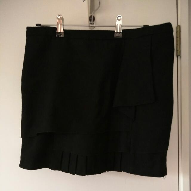 Winter Wool Skirt Size 8-10