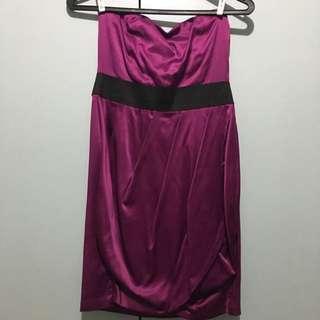 Fuchsia Forever 21 Wrap Dress