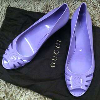 Authentic Gucci Marola Wedges Size US10