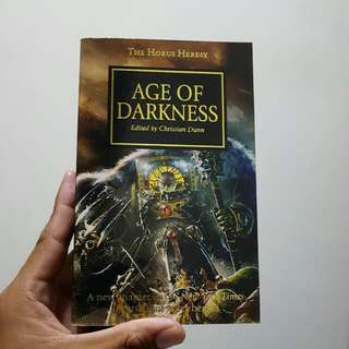 Black Library  Warhammer 40,000 40000 40k The Horus Heresy Book 16 Age Of Darkness