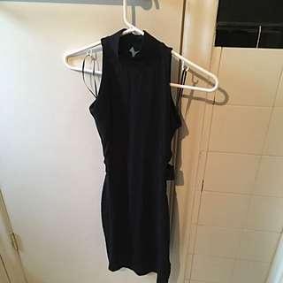 Guess Black Mini Dress