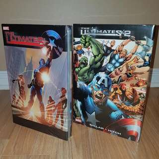 The Ultimates & The Ultimates II 2 Hardcovers