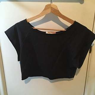 Xs/med Boyfriend Crop Top