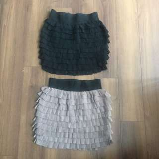 2b Bebe Mini Skirt Lot in XS