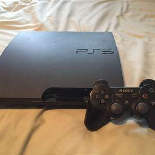 PS3 Slim And 6 Games
