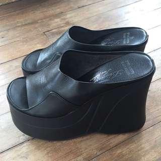 New Leather Platforms