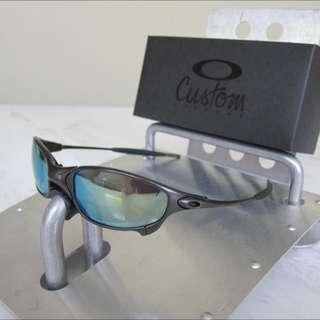 7dab05d40267b Oakley Custom X-Metal Juliet Carbon Frames W Emerald Green Iridium Lenses