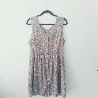 Temt Floral Criss-cross Dress