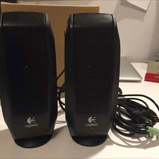 Very Good Condition Portable Logitech Speakers