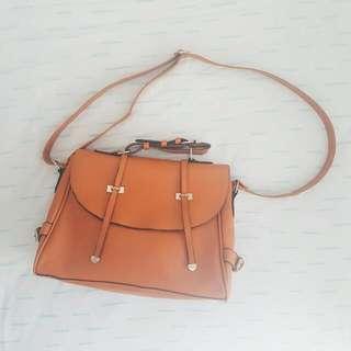 Orange Shoulder Bag