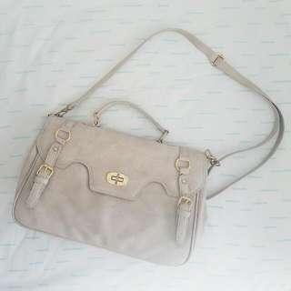 Off-white Biege Shoulder Bag