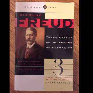 Sigmund Freud: Three Essays On The Theory Of Sexuality
