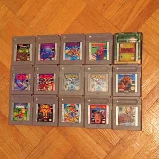 Gameboy And Gamebodu Colour Games