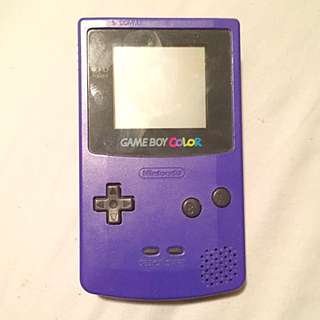 Purple Gameboy Colour