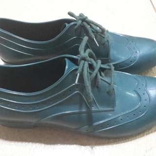 Authentic Melissa Green Oxford  Shoes