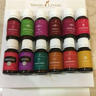 Authentic & Assorted Young Living Essential Oils