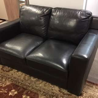 3 Seater And 2 Seater Leather Chairs