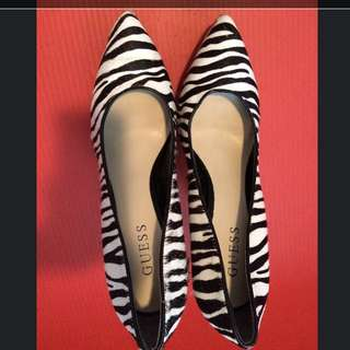 Guess Zebra Print Shoes