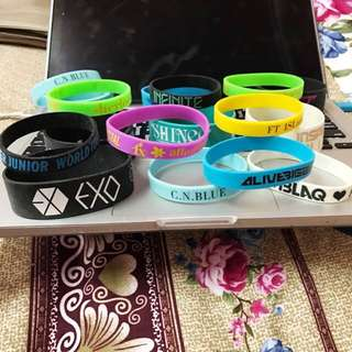 Kpop Group Wristbands