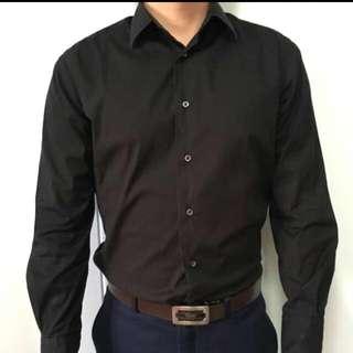 Black Formal Shirt From ZARA
