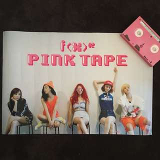 F(x) Pink Tape Poster