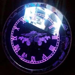 custum led clock