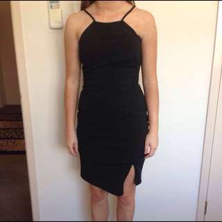 Forecast Black Dress Size 4(XS)