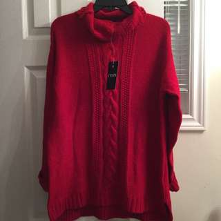 Red Chaps Sweater
