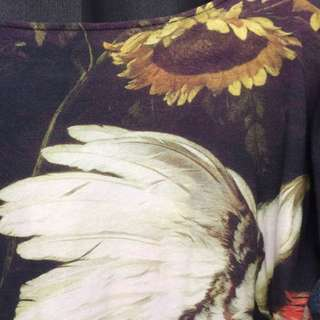 Sass & Bide T Shirt, Beautiful Print, Longer In The Back #sass&bide