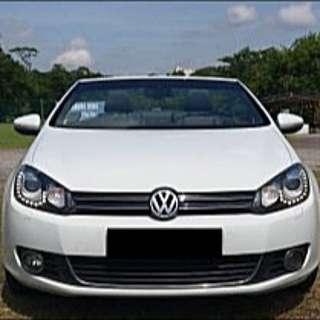 Volkswagen Golf Cabriolet For You Cny 2017