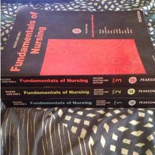 Fundamentals of Nursing Vol 1-3
